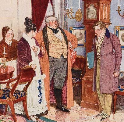 Сочинение на тему: Тема семьи в «Горе от ума» А.С. Грибоедова