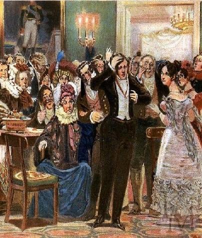 Сочинение на тему: Конфликт поколений в пьесе А.С. Грибоедова «Горе от ума»