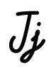 Буква J
