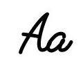 Буква A